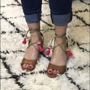 Sam Edelman wrap sandals